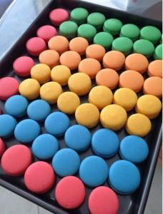 Desseire Houston French baking Macaron tops